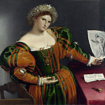 Lorenzo Lotto – Portrait of a Woman inspired by Lucretia, Part 5 National Gallery UK