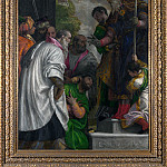 Paolo Veronese – The Consecration of Saint Nicholas, Part 5 National Gallery UK