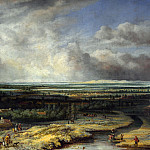 Philips Koninck – An Extensive Landscape with a Hawking Party, Part 5 National Gallery UK
