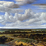 Philips Koninck – An Extensive Landscape with a Road by a River, Part 5 National Gallery UK