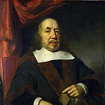 Portrait of an Elderly Man in a Black Robe, Nicolaes Maes