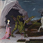 Paolo Uccello – Saint George and the Dragon, Part 5 National Gallery UK