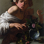 Michelangelo Merisi da Caravaggio – Boy bitten by a Lizard, Part 5 National Gallery UK