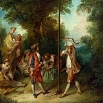 Nicolas Lancret – The Four Ages of Man – Maturity, Part 5 National Gallery UK