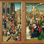 Master of Delft – Triptych – Scenes from the Passion of Christ, Part 5 National Gallery UK