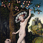 Part 5 National Gallery UK - Lucas Cranach the Elder - Cupid complaining to Venus