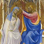 Lorenzo Monaco – The Coronation of the Virgin, Part 5 National Gallery UK