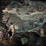 Paolo Fiammingo – Landscape with the Expulsion of the Harpies, Part 5 National Gallery UK