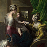 Parmigianino – The Mystic Marriage of Saint Catherine, Part 5 National Gallery UK