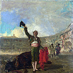 Part 5 National Gallery UK - Mariano Fortuny - The Bull-Fighters Salute