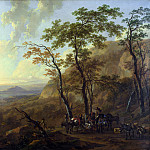 Part 5 National Gallery UK - Nicolaes Berchem - Mountainous Landscape with Muleteers