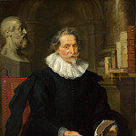 Peter Paul Rubens – Portrait of Ludovicus Nonnius, Part 5 National Gallery UK