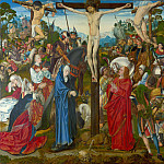 Master of the Aachen Altarpiece – The Crucifixion, Part 5 National Gallery UK