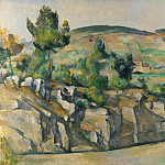 Hillside in Provence, Paul Cezanne