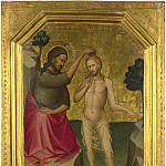 Lorenzo Monaco – The Baptism of Christ, Part 5 National Gallery UK