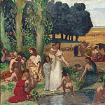 Pierre-Cecile Puvis de Chavannes – Summer, Part 5 National Gallery UK