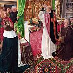 Master of Saint Giles – The Mass of Saint Giles, Part 5 National Gallery UK