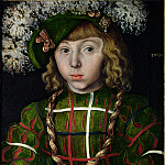 Lucas Cranach the Elder – Portrait of Johann Friedrich the Magnanimous, Part 5 National Gallery UK