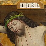 Master of Liesborn – Head of Christ Crucified, Part 5 National Gallery UK