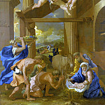 Part 5 National Gallery UK - Nicolas Poussin - The Adoration of the Shepherds