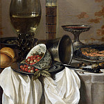 Pieter Claesz. – Still Life with Drinking Vessels, Part 5 National Gallery UK