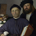 Part 5 National Gallery UK - Lorenzo Lotto - Giovanni Agostino della Torre and his Son, Niccolo