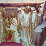 Part 5 National Gallery UK - Lorenzo Monaco - Saint Benedict admitting Saints into the Order