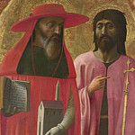 Masaccio – Saints Jerome and John the Baptist, Part 5 National Gallery UK