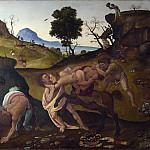 Piero di Cosimo – The Fight between the Lapiths and the Centaurs, Part 5 National Gallery UK