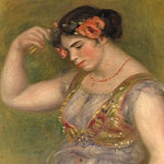 Dancing Girl with Castanets, Pierre-Auguste Renoir