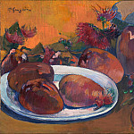 Paul Gauguin – Still Life with Mangoes, Part 5 National Gallery UK