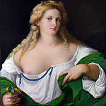 Palma Vecchio – A Blonde Woman, Part 5 National Gallery UK