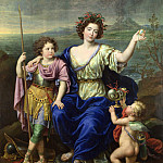 The Marquise de Seignelay and Two of her Sons, Pierre Mignard