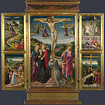 Niccolo di Liberatore – Christ on the Cross, and Other Scenes, Part 5 National Gallery UK