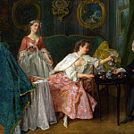 Part 5 National Gallery UK - Nicolas Lancret - The Four Times of Day - Morning