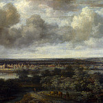 Philips Koninck – An Extensive Landscape with a Town, Part 5 National Gallery UK