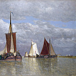 Part 5 National Gallery UK - Paul Jean Clays - Ships lying near Dordrecht