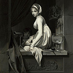 Louis-Leopold Boilly – A Girl at a Window, Part 5 National Gallery UK