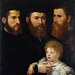 Part 5 National Gallery UK - Netherlandish - Three Men and a Little Girl