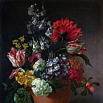 Marie Blancour – A Bowl of Flowers, Part 5 National Gallery UK