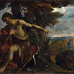 Pier Francesco Mola – Saint John the Baptist preaching in the Wilderness, Part 5 National Gallery UK