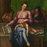 Part 5 National Gallery UK - Marcello Venusti (after Michelangelo) - The Holy Family (Il Silenzio)