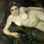 Pierre-Auguste Renoir – A Nymph by a Stream, Part 5 National Gallery UK