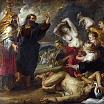 Part 5 National Gallery UK - Peter Paul Rubens - The Brazen Serpent