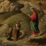 Part 5 National Gallery UK - Moretto da Brescia - Christ blessing Saint John the Baptist