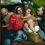 Lorenzo Lotto – The Virgin and Child with Saints, Part 5 National Gallery UK