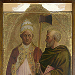 Part 5 National Gallery UK - Masolino - A Pope (Saint Gregory) and Saint Matthias
