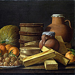 Luis Melendez – Still Life with Oranges and Walnuts, Part 5 National Gallery UK