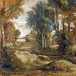 Peter Paul Rubens – A Wagon fording a Stream, Part 5 National Gallery UK