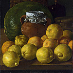Luis Melendez – Still Life with Lemons and Oranges, Part 5 National Gallery UK